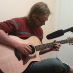 Daniel Gillispie recorded original compositions for the HPHP in our make-shift recording studio.